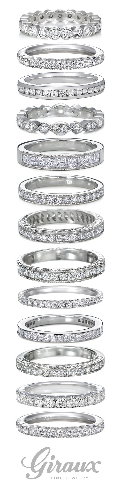 diamond wedding bands wedding ring diamond Diamond Ladies Wedding Bands come in so many shapes and styles Giraux Fine Jewelry is