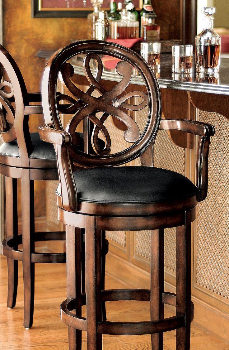 home decorleather arm chairleather sofaratan furni swivel kitchen chairs Breakfast Bar Kristina Swivel Bar Stool