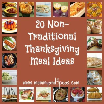 Host a Non-Traditional Thanksgiving -20 Great Meal Ideas | Everything Thanksgiving | Pinterest ...