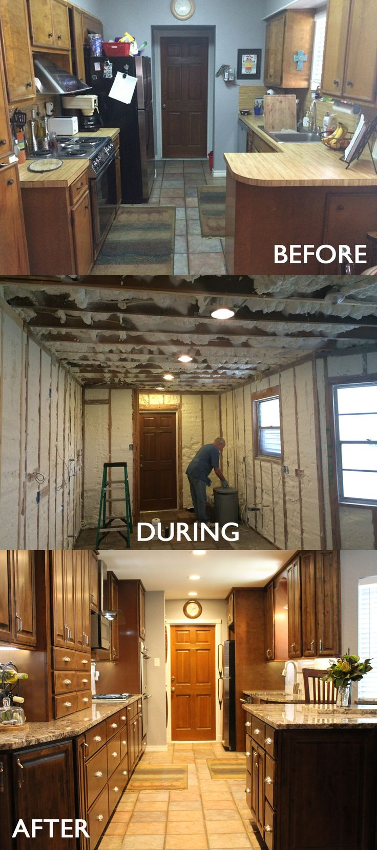 remodel before n after mobile home kitchen remodel Kitchen remodel before and after Mobile Home