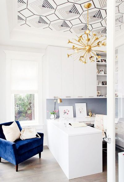 25+ best ideas about Wallpaper Ceiling on Pinterest | Graphic wallpaper, Wallpaper ceiling ideas ...