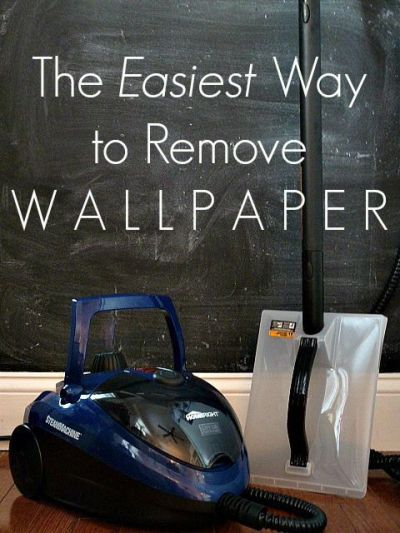 This is the BEST way to remove wallpaper!! No chemicals, just steam. | HOME, DESIGN, & DIY ...