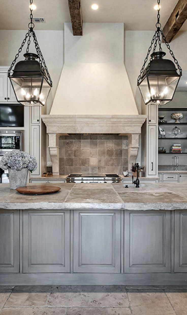 modern french country country kitchen lighting 23 Awesome Transitional Kitchen Designs For Your Home