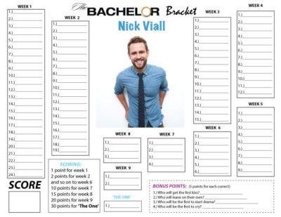 17 Best ideas about Bachelor Bracket on Pinterest ...