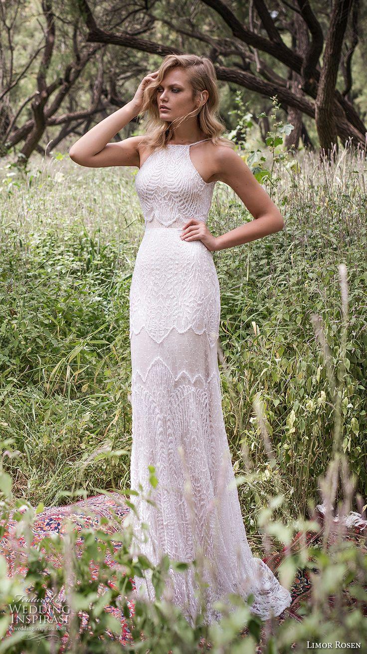 i do simple bohemian wedding dresses Limor Rosen Wedding Dresses Birds Of Paradise Bridal Collection