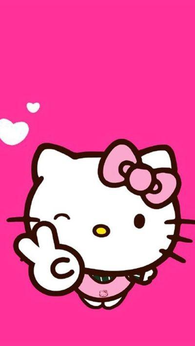 hello kitty wallpaper iphone | hello kitty wallpaper iphone | Pinterest | Kitty wallpaper ...