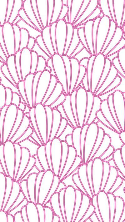 iPhone 5 wallpaper #preppy #seashells #pattern   iPhone backgrounds   Pinterest   Sea shells ...