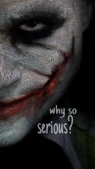 Joker. iPhone wallpaper | iPhone | Pinterest | iPhone wallpapers, The joker and Why so serious