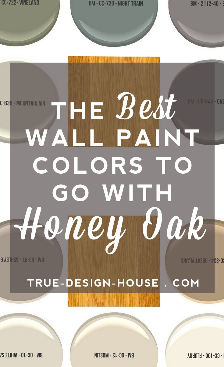 honey oak cabinets oak kitchen cabinets The Best Wall Paint Colors To Go With Honey Oak Oak Kitchen Cabinets