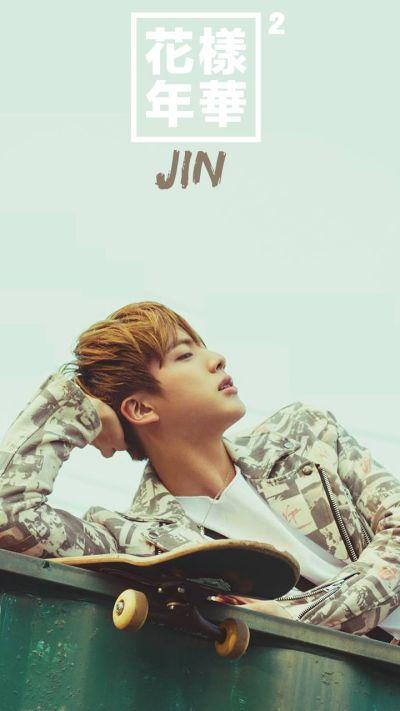 BTS Jin wallpaper iphone | BTS wallpapers (by me) | Pinterest | Atlantic ocean, BTS and Jay