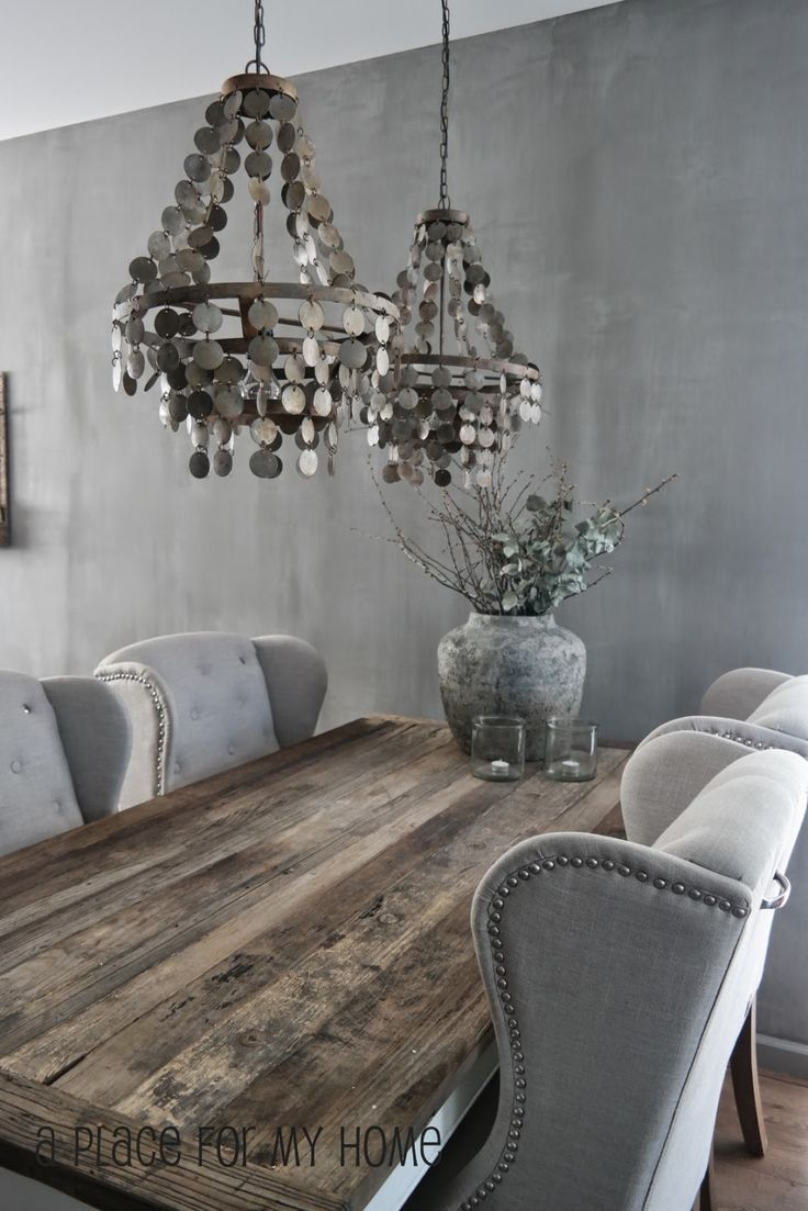 dining tables grey wood kitchen table best images about Dining Tables on Pinterest Dining tables Chairs and Trestle table