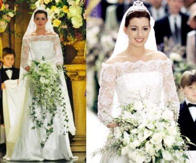 Anne Hathaway Princess Diaries Wedding Dress; this is ...