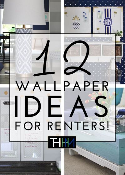 17 Best ideas about Renters Wallpaper on Pinterest   Temporary wallpaper, Adhesive wallpaper and ...