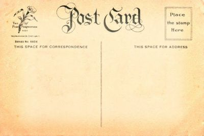 French Postcard Template   To download Vintage Postcard Back #7 in hi-res, click here ...