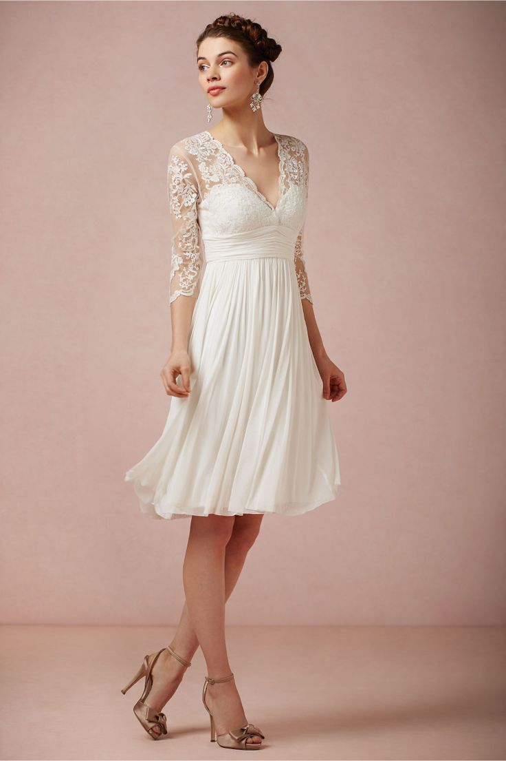 older bride second wedding dress ideas Wedding Dresses for Second Marriages Over 50 Omari Dress in Bride Wedding Dresses at BHLDN