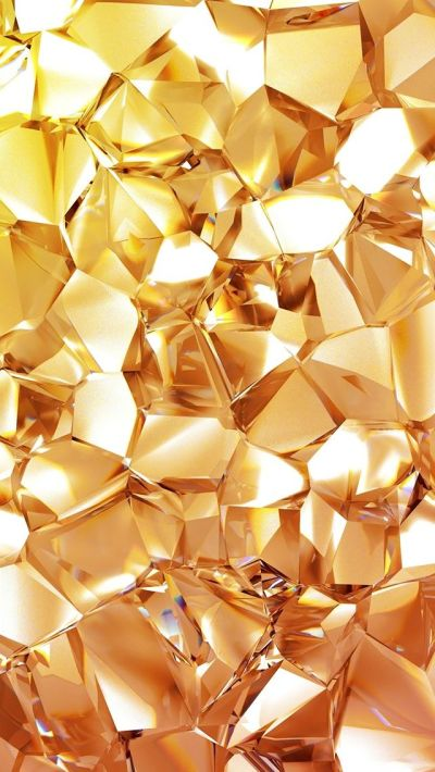 Geometric Gold Diamond #iPhone #5s #wallpaper | iPhone 5(s) Wallpapers | Pinterest | Mobile ...