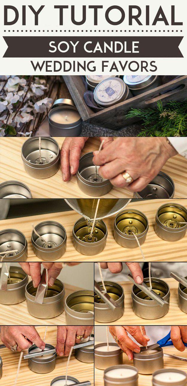 homemade wedding favors diy wedding favors 24 DIY Wedding Favor Ideas