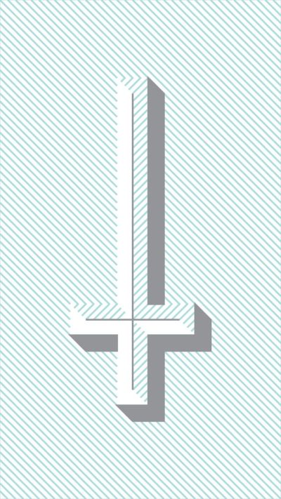 17 Best images about Sign of the Cross on Pinterest   Cross background, Upside down cross and ...