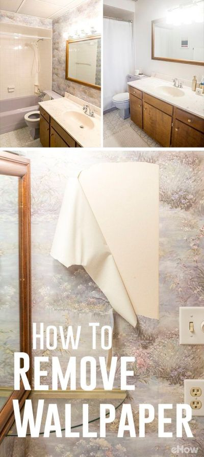 1000+ ideas about Painting Over Wallpaper on Pinterest | Remove wallpaper, Butcher block top and ...