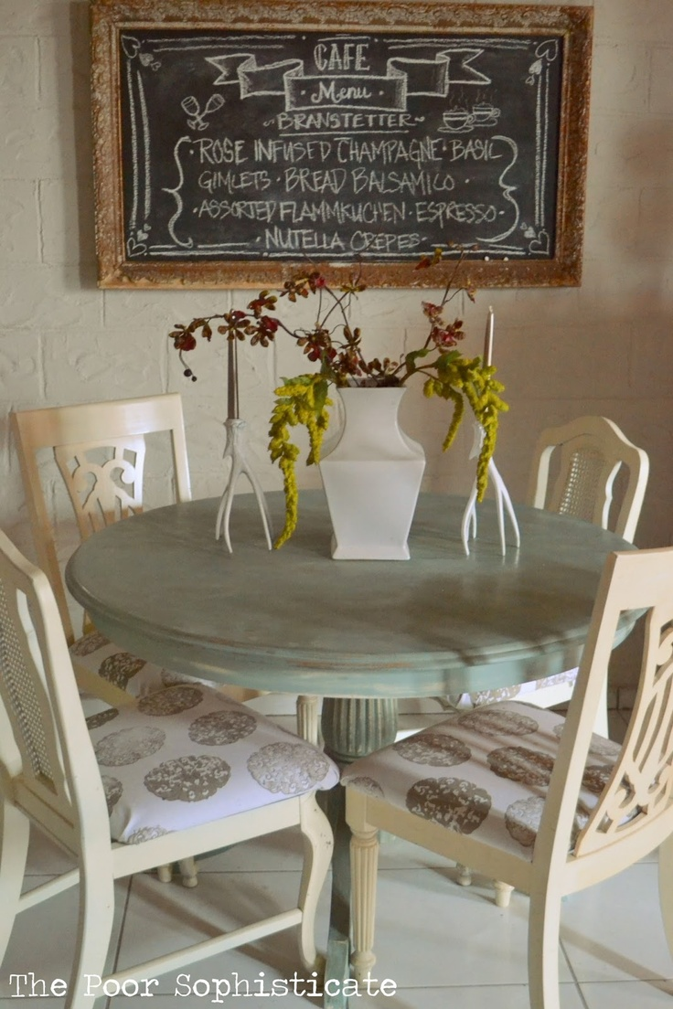 repainted table kitchen table chairs kitchen table chair covers Google Search