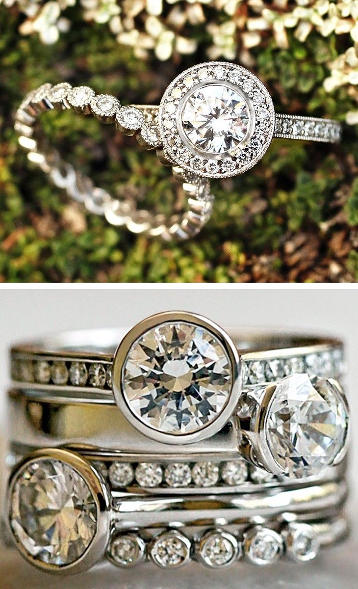 cheap engagement rings brilliant earth wedding bands I would love to get one of these Brilliant Earth rings