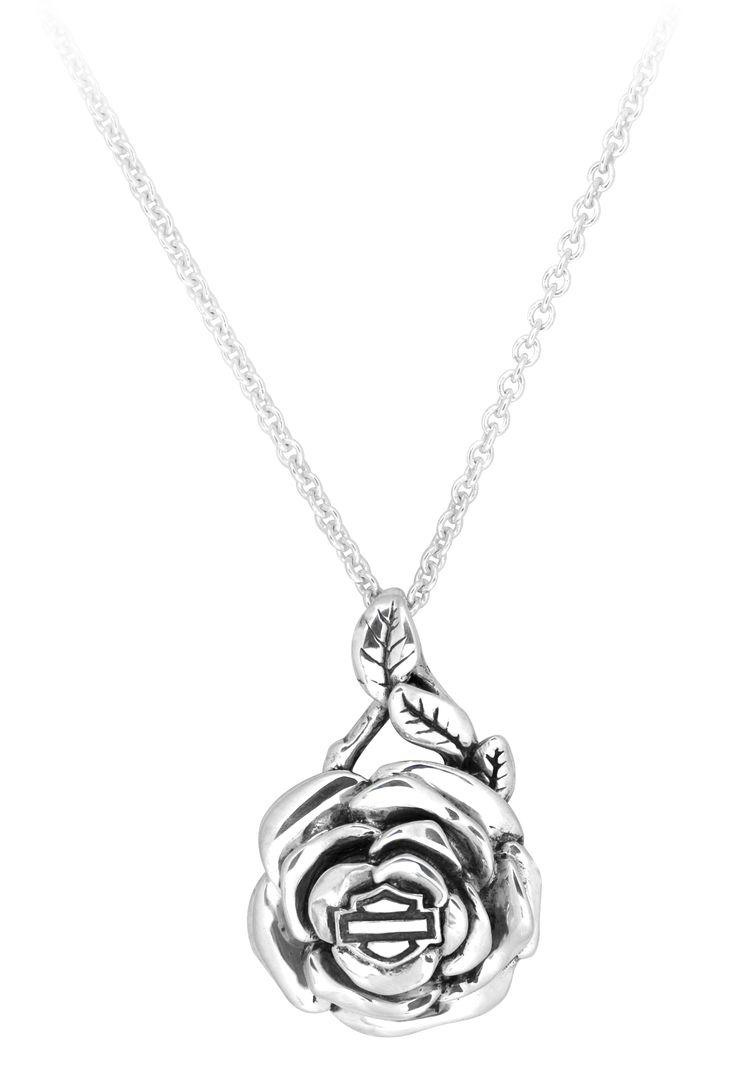 all things harley harley davidson wedding rings harley davidson jewelry rose necklace HDN Harley Davidson