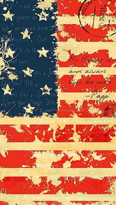 USA Flag - #wordings iPhone wallpaper @mobile9 | iPhone 7 & iPhone 7 Plus Wallpapers, Cases ...