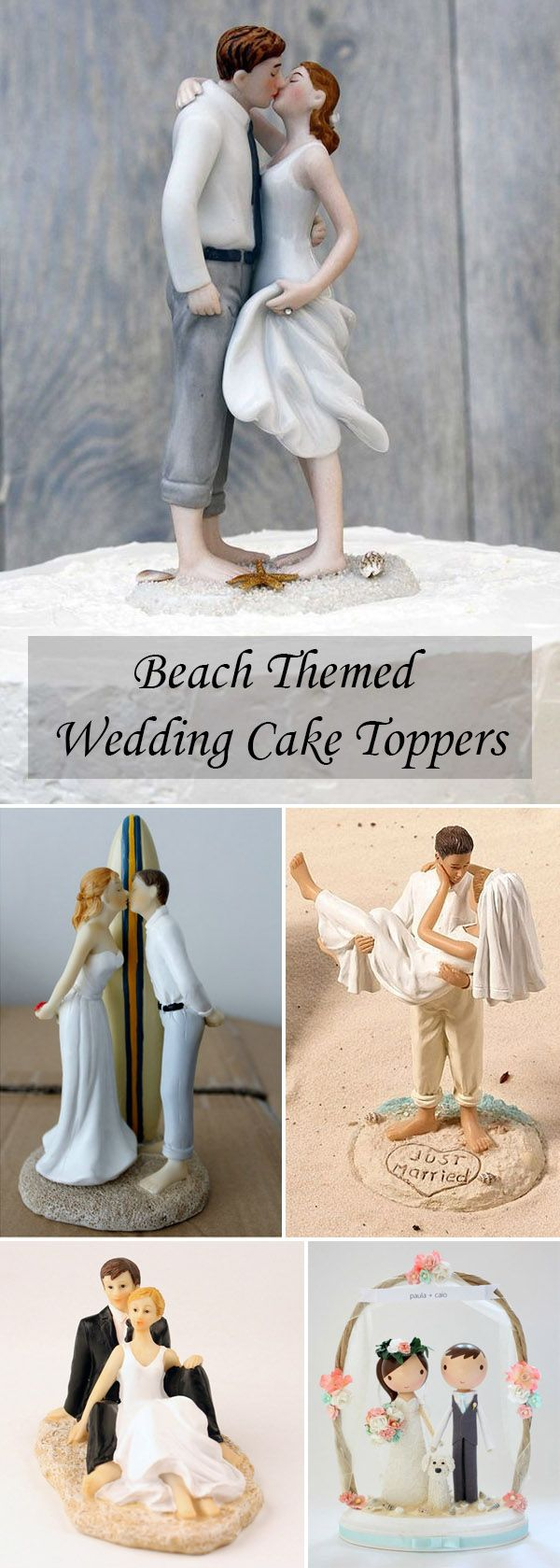 beach wedding cake toppers wedding cake toppers funny Different and Funny Wedding Gifts and Cake Toppers