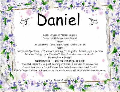 1000+ images about Meaning of Names on Pinterest | Daniel o'connell, Baby names and meanings and ...