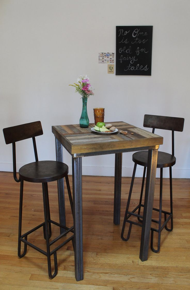 bistro tables bistro kitchen table RESERVED for Tracy Reclaimed Pallet and Barn Wood Pub Bistro Kitchen Table Crux