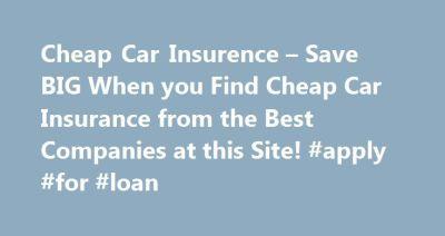 17 Best ideas about Car Insurance on Pinterest | Car ...