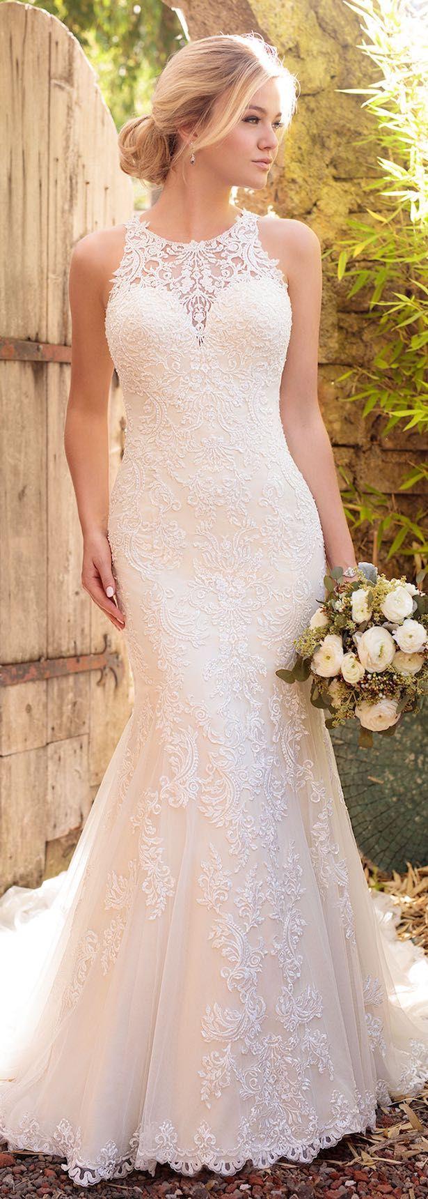 wedding dresses dress for a wedding Essense of Australia Fall Trumpet Wedding DressesWeeding
