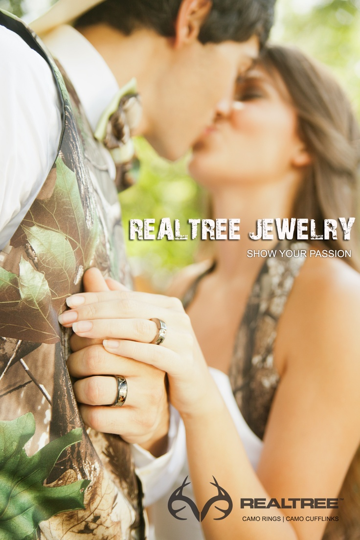 realtree realtree wedding rings Realtree Jewelry Show Your Passion