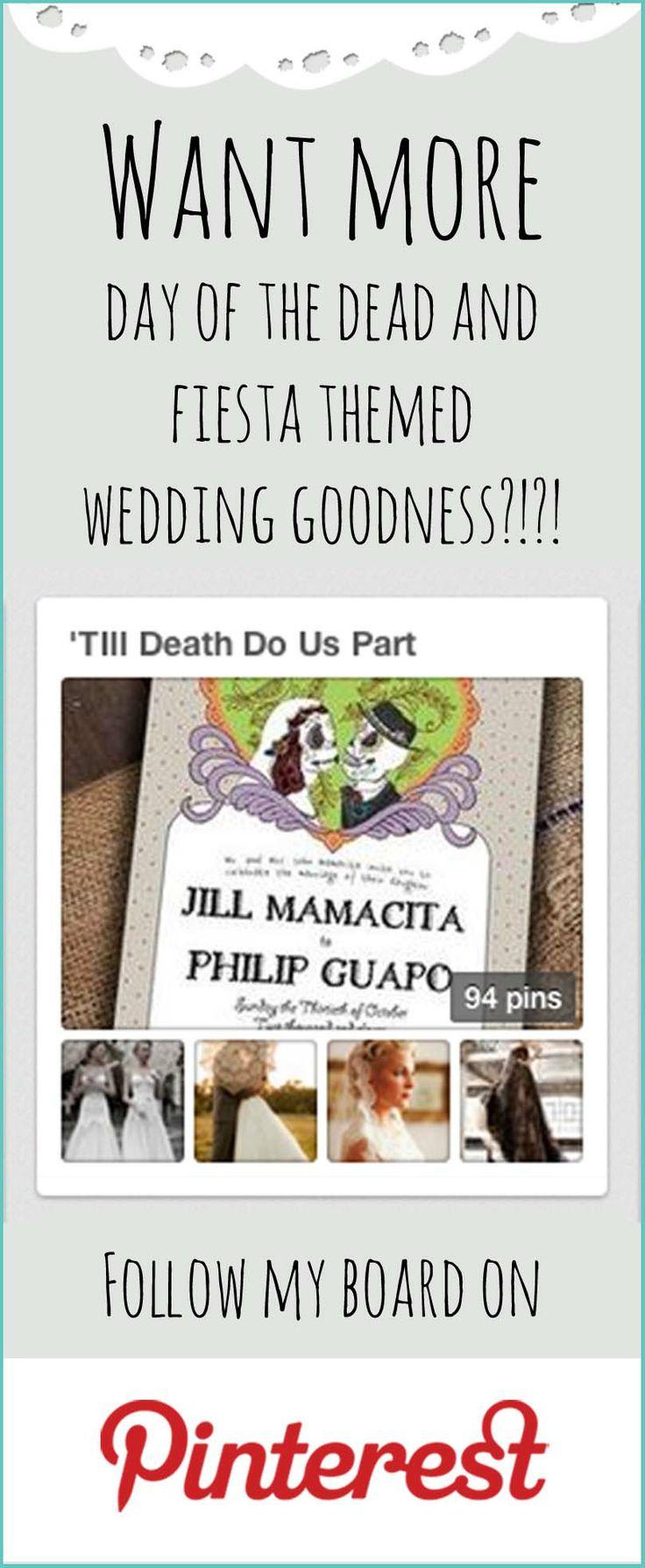 till death do us part skull wedding invitations luckyladypaper com till death do us part wedding inspiration board Papel Picado
