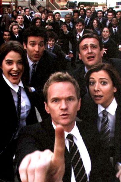 HIMYM. Girls vs Suits. Nothing suits me like a suit by Barney Stinson | Movie and book ...