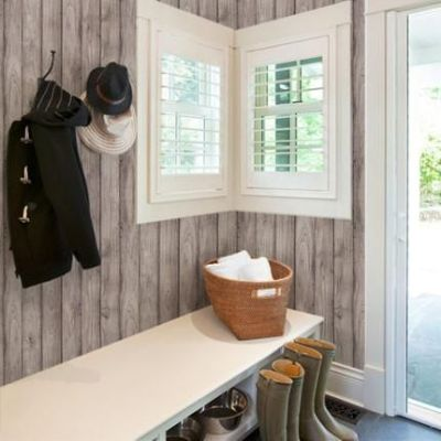 17 Best ideas about Wood Wallpaper on Pinterest | Plank walls, Wood fireplace and Reclaimed wood ...