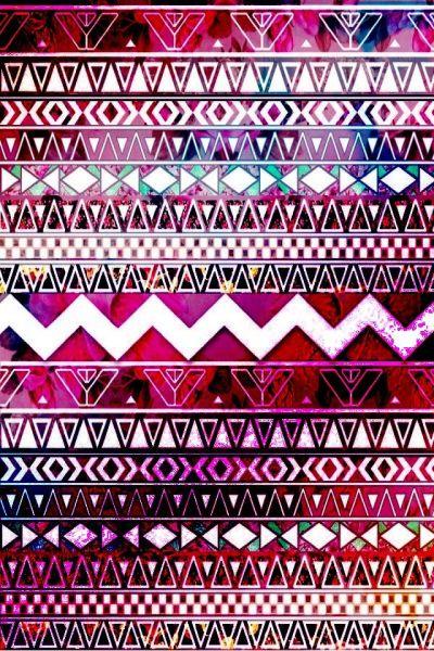 Pink-purple aztec print   wallpaper   Pinterest   Aztec, Aztec Prints and My Style