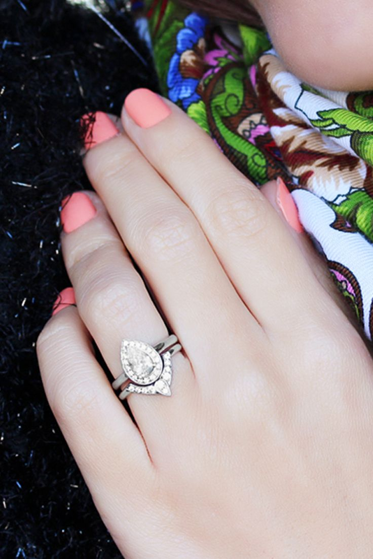 pear engagement rings pear shaped wedding ring 25 Best Ideas about Pear Engagement Rings on Pinterest Pear shaped engagement rings Pear shaped wedding bands and Pear diamond engagement ring