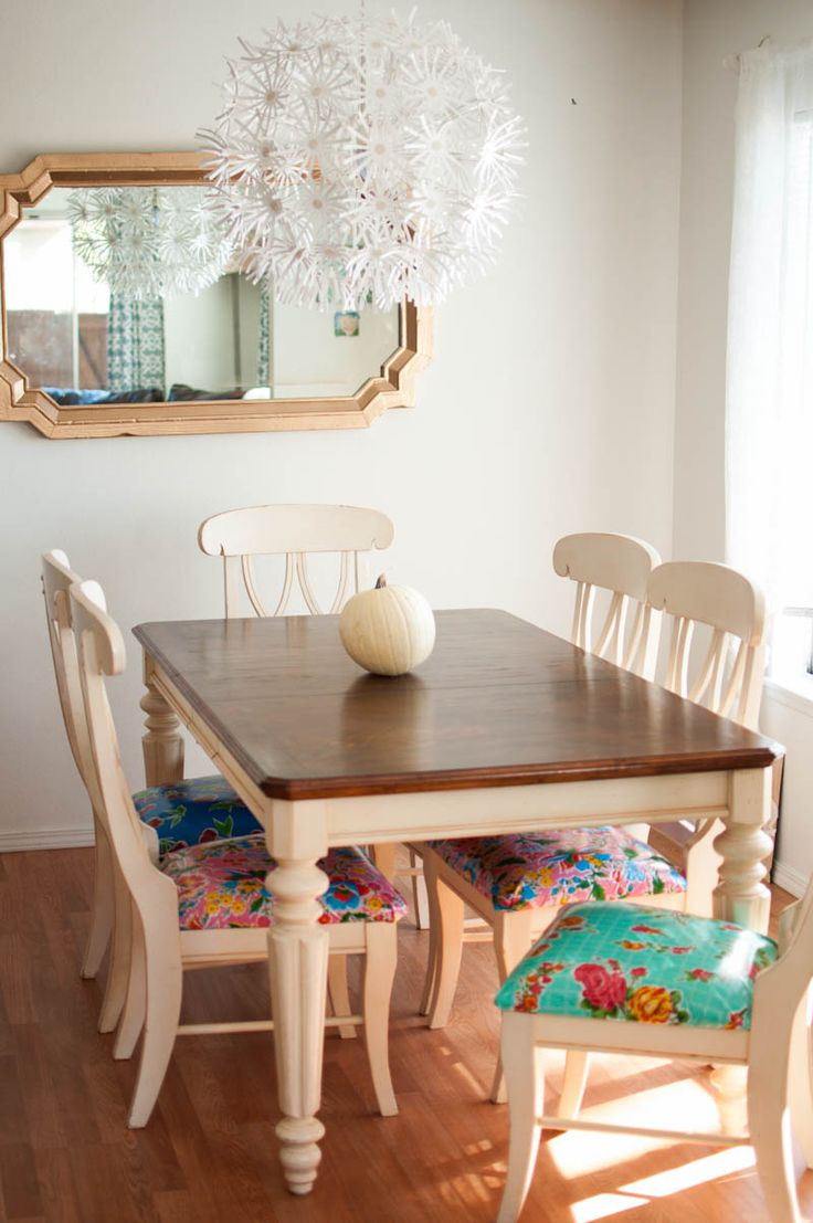 kitchen chair cushions cushions for kitchen chairs A Kitchen Table to be Thankful for a Make Over Story