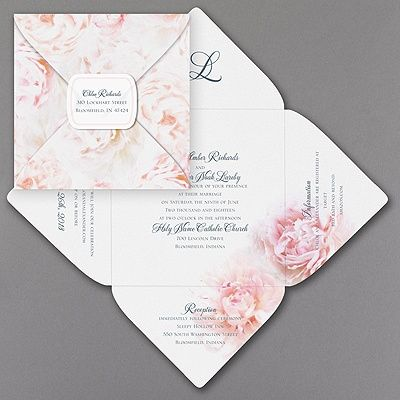 25+ best ideas about Unique wedding invitations on ...