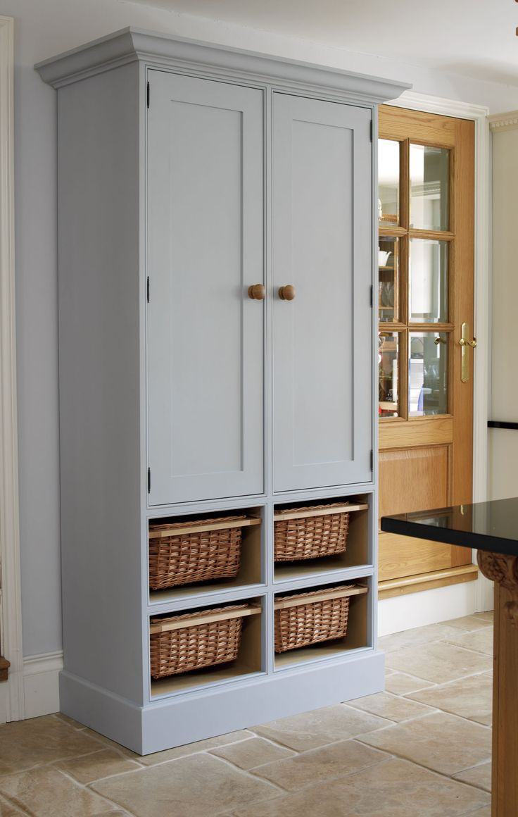 free standing kitchen cabinets free standing kitchen cabinets Free Standing Kitchen Larder The Bespoke Furniture Company
