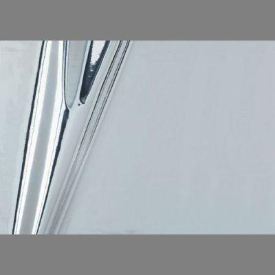 Silver High Gloss Metallic Self-Adhesive mylar wall contact paper: 201x4527 | Metallic Vinyl ...