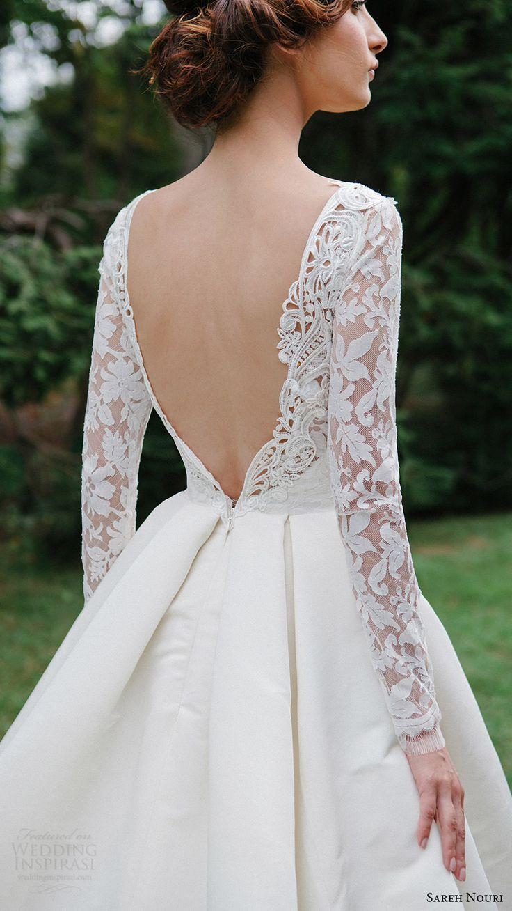 classic wedding dress elegant wedding dresses Sareh Nouri Fall Wedding Dresses Lookbook