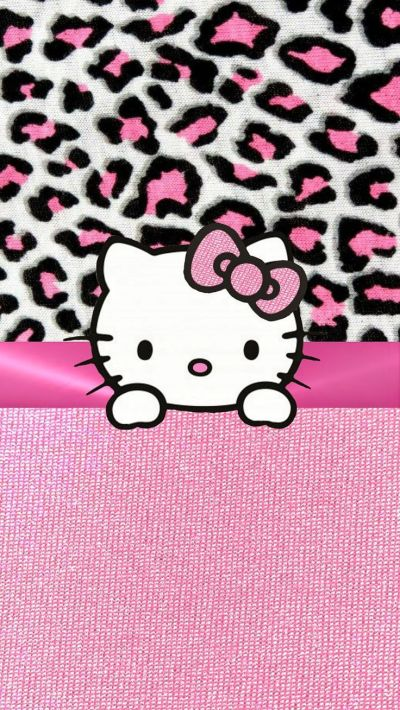 PINK HELLO KITTY IPHONE WALLPAPER BACKGROUND | IPHONE WALLPAPER / BACKGROUNDS | Pinterest ...