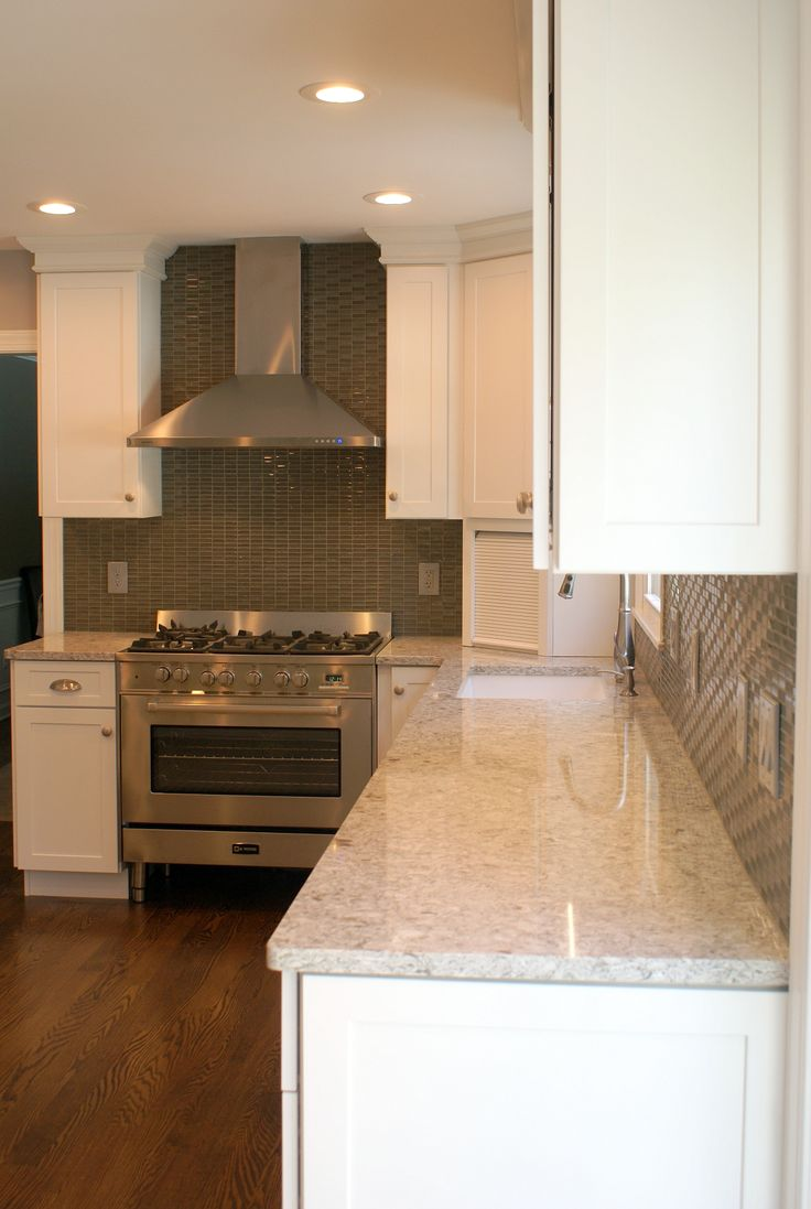 kitchens diamond kitchen cabinets White Diamond kitchen with new quay quartz countertops 4 of 15