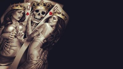 cool Sexy queen of hearts playing card, and the priest wallpaper | Other Wallpapers | Pinterest ...