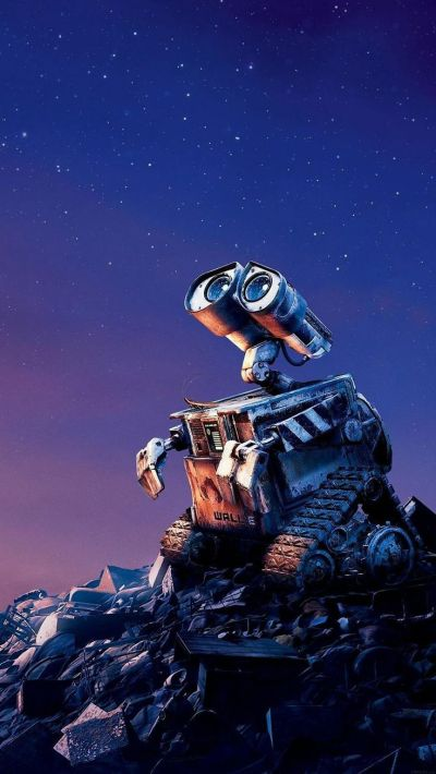 Tap image for more iPhone Disney wallpaper! Wall E Disney want go home - @mobile9 | Wallpapers ...