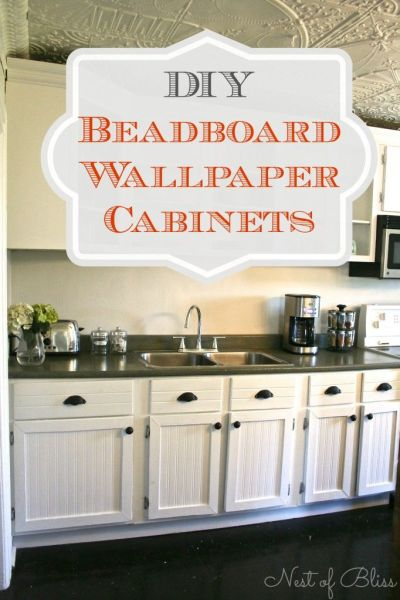 25+ best ideas about Wallpaper Cabinets on Pinterest   Wallpaper drawers, Bead board cabinets ...