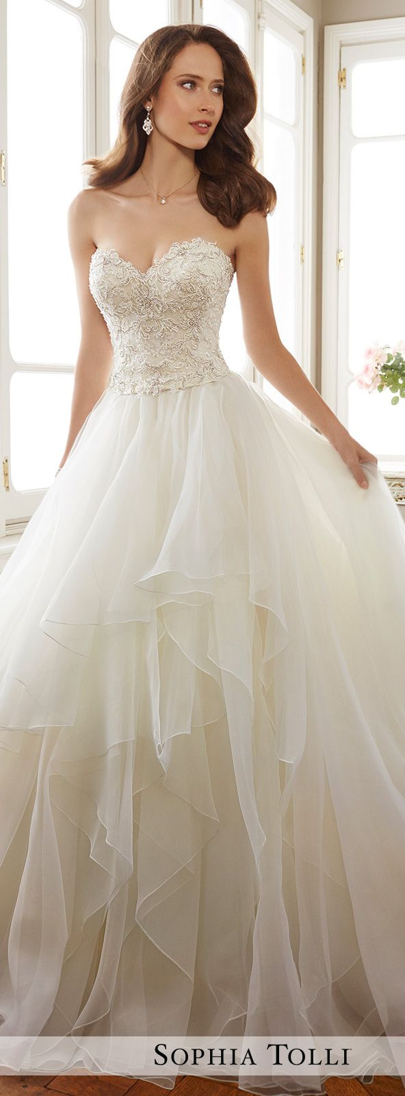 bridal collection wedding dressing Wedding Dress by Sophia Tolli Spring Bridal Collection Style No Y Tropez