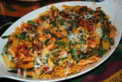 Whole Wheat Penne with Lobster and Bacon (http://www.foodnetwork.com/recipes/giada-de-laurentiis ...